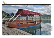 Pletna Boats Of Lake Bled Carry-all Pouch