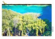 Plitvice Lakes National Park Vertical View Carry-all Pouch