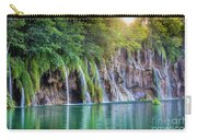 Plitvice Sunburst Carry-all Pouch