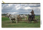 Plowing In Lancaster County Carry-all Pouch