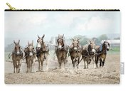 Plowing The Fields Carry-all Pouch
