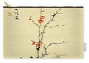 Plum And Bamboo Carry-all Pouch