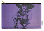 Plum Cowgirl Carry-all Pouch