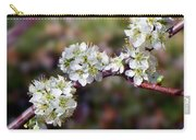 Plum Tree Blossoms Carry-all Pouch