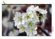 Plum Tree Blossoms II Carry-all Pouch