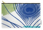 Plumage 3- Art By Linda Woods Carry-all Pouch