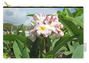 Plumeria In Pink Carry-all Pouch