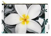 Plumeria In Water Carry-all Pouch