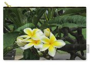 Plumeria In Yellow 2 Carry-all Pouch