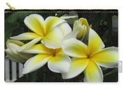 Plumeria In Yellow 3 Carry-all Pouch