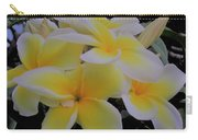Plumeria In Yellow 4 Carry-all Pouch