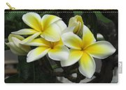 Plumeria In Yellow Carry-all Pouch