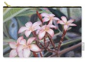 Plumeria, 9x12, Oil, '08 Carry-all Pouch
