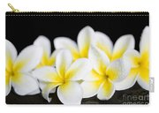 Plumeria Obtusa Singapore White Carry-all Pouch