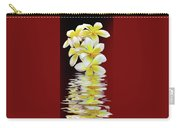 Plumeria Reflections By Kaye Menner Carry-all Pouch