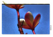 Plumeria Two Carry-all Pouch
