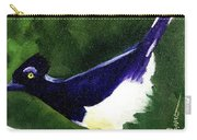 Plush Crested Jay Carry-all Pouch