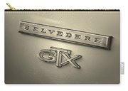 Plymouth Belvedere Gtx Fender Emblem Badge Carry-all Pouch