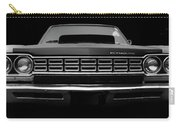 Plymouth Fury - Black Carry-all Pouch