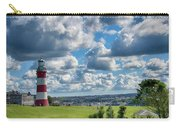Plymouth Hoe And Smeatons Tower Carry-all Pouch
