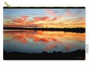 Pocono Mountain Pennsylvania Sunset Over A Lake Carry-all Pouch