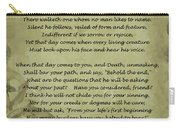 Poem The Question By Ella Wheeler Wilcox Carry-all Pouch
