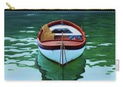 Coastal Wall Art, Poetic Light, Fishing Boat Paintings Carry-all Pouch