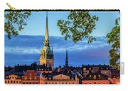 Poetic Stockholm Blue Hour Carry-all Pouch