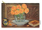 Poetry Of Roses Carry-all Pouch
