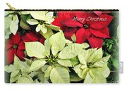 Poinsetta Mix Carry-all Pouch