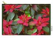 Poinsettia Christmas Carry-all Pouch