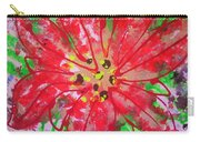 Poinsettia For Christmas Carry-all Pouch