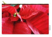 Poinsettia In Bloom Carry-all Pouch