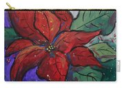 Poinsettia Pizzaz Carry-all Pouch
