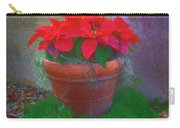 Poinsettia Pot Carry-all Pouch