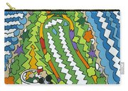 Point Arena Lighthouse Carry-all Pouch by Rojax Art