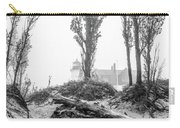 Point Betsie Lighthouse In Fog Carry-all Pouch