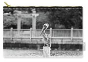 Point Clear Alabama Brown Pelican - Bw Carry-all Pouch
