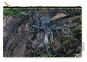 Point Lobos Veteran Cypress Tree Carry-all Pouch by Charlene Mitchell
