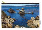 Point Lobos Whalers Cove- Seascape Art Carry-all Pouch