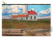 Point Wilson Lighthouse And Driftwood Carry-all Pouch