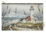 Point Wilson Lighthouse Carry-all Pouch by James Williamson