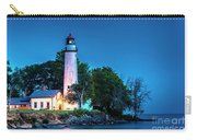 Pointe Aux Barques Lighthouse At Dawn Carry-all Pouch