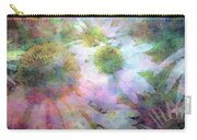 Pointillism Coneflowers 3571 Idp_3 Carry-all Pouch