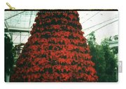 Pointsettia Tree Carry-all Pouch