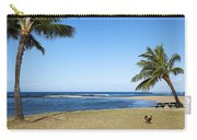 Poipu Beach Carry-all Pouch by Kelley King