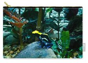 Poison Dart Frog Poised For Leap Carry-all Pouch
