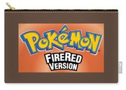 Pokemon Fire Red Emulator Carry-all Pouch