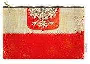 Poland Flag Carry-all Pouch