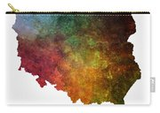 Poland Map Polska Map Carry-all Pouch